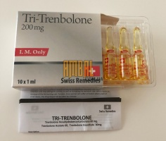 Tri- Trenbolone 200mg Swiss Remedies (тритрен)